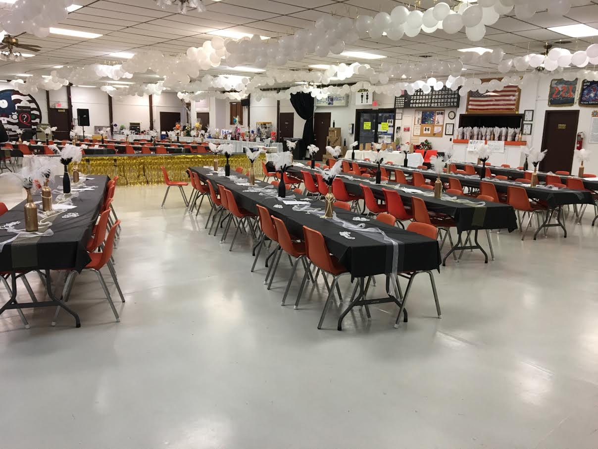 Whole Hall Event set-up